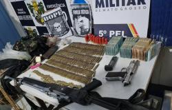 NOVA BANDEIRANTES: Forças de segurança recupera mais de R$ 420 mil com quadrilha do roubo a bancos