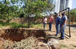 Alta Floresta: prefeitura realiza vistoria para viabilização de drenagem urbana