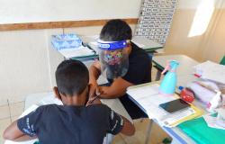 Escola em Nova Monte Verde realiza avaliação presencial com alunos do 4º, 5º e 6º anos