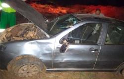 Motorista perde controle e carro capota na MT-208 em Alta Floresta