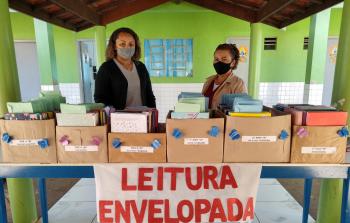 Escola em Nova Monte Verde inicia sequencia didática sobre leitura