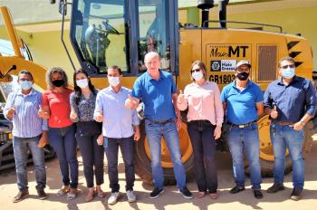 CIDVAT realiza entrega oficial de maquinário em Nova Monte Verde