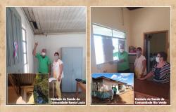 Alta Floresta: Vereadores visitam unidades de saúde do Setor Sul
