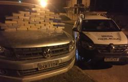 Polícia Militar de Nova Monte Verde encontra 51kg de Cocaína em Amarok