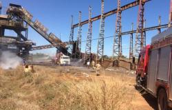 Incêndio atinge usina de etanol em Mato Grosso; fogo começou em caldeira