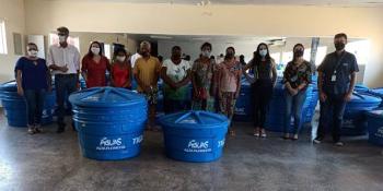 Famílias de Alta Floresta são beneficiadas com doação de caixas d'água