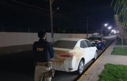 PRF prende homem por crime de receptação de veículo e adulteração veicular em Sinop/MT
