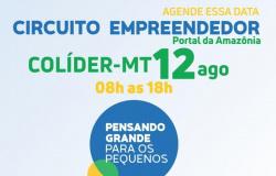 Abertas as inscrições para o Circuito Empreendedor em Colíder
