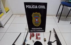 PARANAÍTA:  Cinco pessoas são presas em flagrante com 12 armas de fogo em investigação sobre homicídio