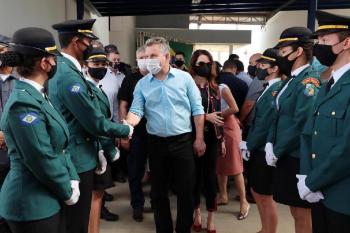 Governador anuncia concurso na área de segurança pública