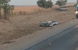 Carreta 'destrói' pick-up e homem morre em grave acidente na BR-163