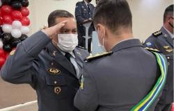 Comandante do 9º Comando Regional da PM de Alta Floresta recebe medalha ´Mérito Proerd´