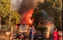 Mulher morre em incêndio em residência em Peixoto de Azevedo