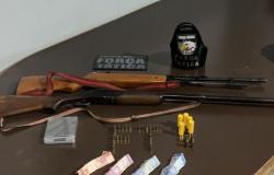 Em uma semana, Polícia Militar apreende 32 armas de fogo em MT