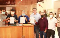 Com apoio de Tuti e Claudinei, IFMT apresenta projeto do novo bloco de zootecnia para o senador Fávaro e o deputado Nininho