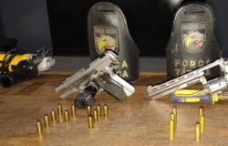 Força Tática evita roubo a loja de caça e pesca, prende casal e identifica suspeitos em Sinop