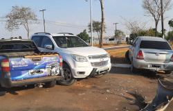 Alta Floresta: Acidente envolve três veículos na Avenida Ariosto da Riva