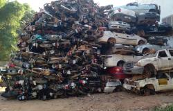 Mais de 300 veículos serão prensados no 20º Ciretran de Alta Floresta