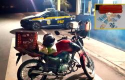 PRF apreende drogas durante fiscalização em Nova Santa Helena-MT