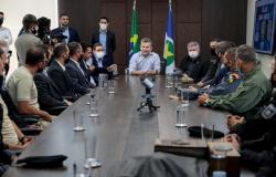 Em reconhecimento, governador promove almoço para forças de Segurança que atuaram em Nova Bandeirantes