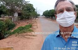 Alta Floresta: Vereador Pitoco cobra canalização para a parte mais baixa da Rua do Araújo