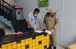 Corpo de Bombeiros Militar executa Operação Alvará Legal I em Alta Floresta e mais 21 municípios de MT