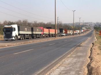 Paralisação faz bombas de combustível secarem em Sinop