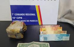 Polícia Militar prende copiloto de avião que caiu com cocaína em Brasnorte