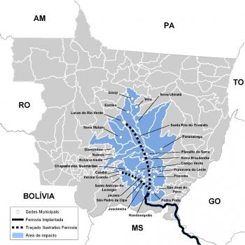 Governo aprova proposta e empresa fica habilitada a construir a 1ª ferrovia estadual de MT