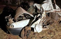 Seis mortos e quatro feridos em acidente com dois carros na BR-364 em Mato Grosso