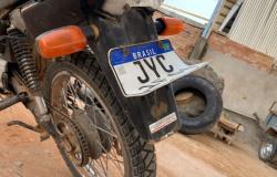 Motocicleta furtada em Paranaíta é localizada em Alta Floresta