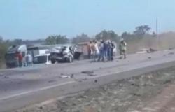 Acidente entre 4 veículso mata duas pessoas em MT