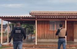 Operação Volantes cumpre ordens judiciais contra criminosos que assaltaram cooperativas de crédito em Nova Bandeirantes
