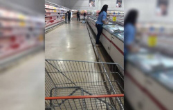 MT - Tarado se masturba e ejacula em idosa dentro de supermercado
