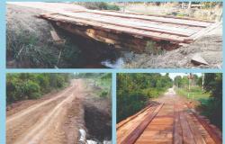 Alta Floresta: Prefeitura atende reivindicação de vereador e recupera pontes e bueiros no Setor Oeste