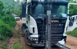 PÁTIO DE POSTO: Polícia Civil de Alta Floresta investiga queixa de roubo de caminhão