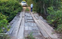 Alta Floresta: Presidente Tuti cobra recuperação urgente de ponte e bueiro na Quinta Leste
