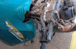 VILA NOVA: Moto furtada no Boa Esperança é encontrada toda sucateada em AF