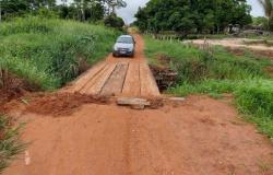 Alta Floresta: presidente da Câmara cobra recuperação de ponte e bueiros na Comunidade Novo Horizonte
