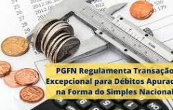 PGFN REGULAMENTA TRANSAÇÃO EXCEPCIONAL PARA DÉBITOS APURADOS NA FORMA DO SIMPLES NACIONAL