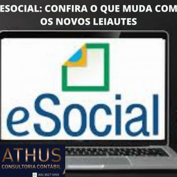 ESOCIAL: CONFIRA O QUE MUDA COM OS NOVOS LEIAUTES