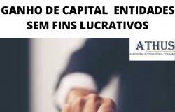GANHO DE CAPITAL  ENTIDADES SEM FINS LUCRATIVOS