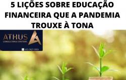 5 LIÇÕES SOBRE EDUCAÇÃO FINANCEIRA QUE A PANDEMIA TROUXE À TONA