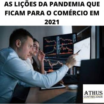AS LIÇÕES DA PANDEMIA QUE FICAM PARA O COMÉRCIO EM 2021