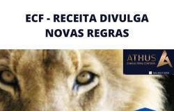 ECF - RECEITA DIVULGA NOVAS REGRAS