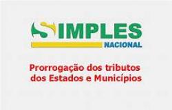 SIMPLES NACIONAL PRORROGAÇAO DE VENCIMENTOS - PERÍODO DE APURAÇÃO MARÇO ABRIL E MAIO 2021