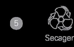 ETAPA 5 Secagem